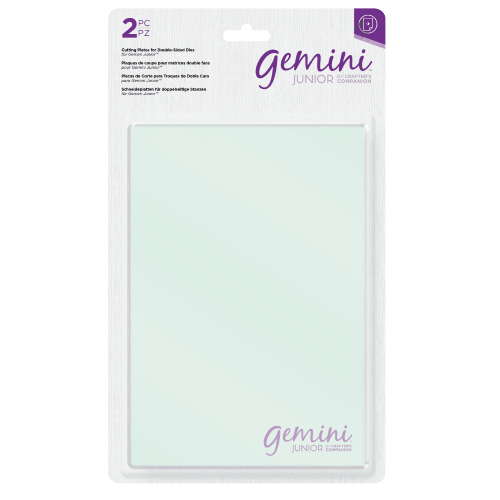 Gemini - Double Sided Dies & Junior Cutting Plates - Crafter's Companion
